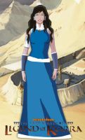 Korra in dress by AryGarmu