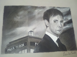 The Master With Not His Tardis - ArtII classwork by Luckyeater