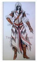 Assassin's creed female 1 by TegwynDeForest