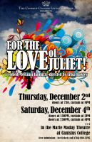 For The Love of Juliet Poster by ediskrad-studios