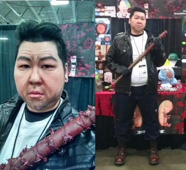 Cosplay: Negan - The Walking Dead by TheSpazOutLoud