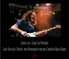 Geddy Lee - GOD Lee by Katena