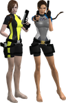Lara and Jill 10 by candycanecroft