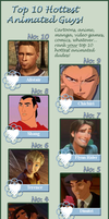Hottest Animated Males meme by FalseDisposition