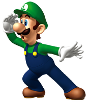 Luigi Render 2 by SuperFlash1980