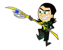 Fairly Odd Loki by MdeLucena