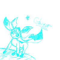 Glaceon by omgtirgafr