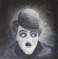Mr.Charles Chaplin by Adnil