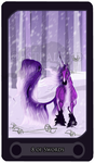 8 of Swords - Tarot Card by Astralseed