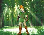 Crono as Link by Toadman005