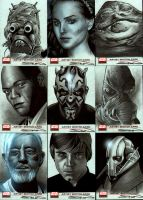 Star Wars Galaxy 4 Set 2 by RandySiplon