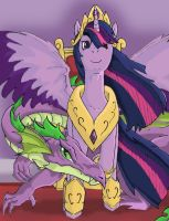 Princess Twilight by mortalshinobi