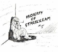 Property of Starscream by peppermintwind