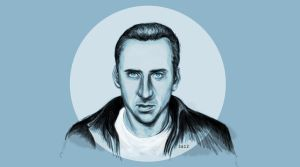 Nicolas Cage by Sabellian