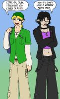 WHN: College Boys by BatNeko