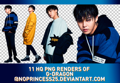 PNG PACK #134 | G-DRAGON by NoPrincess25