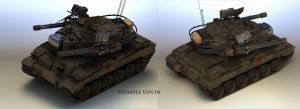 Warmonger AFV Camo by Quesocito