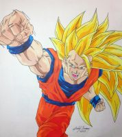 Goku's Dragon FIST! by gokujr96