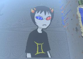 Sollux Captor Minecraft Sprite by Skycrusher12