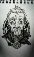 The War Doctor: warm-up art by rori