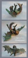 Dragon baby Fiery Eye - for sale by hontor