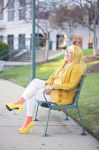 Honey Lemon - Relaxing at Campus by PrincessShiera