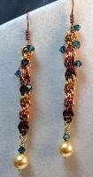 Climbing Crystals Earrings by Krystalchains