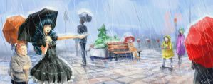 raining day by Tychy
