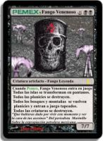 Pemex Magic Card by LoboHibiky