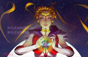 Astral Moon by CerboPhix