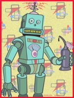 Besotted Robot by jimmyemery