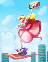 Peach and Pidgit by J2Dstar
