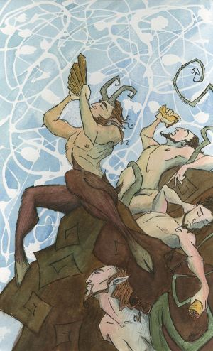 Pan and Satyrs