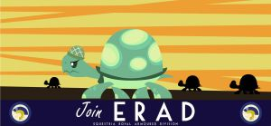 20th ERAD Recruitment Poster - Tank the Tortoise by ProfessorBasil