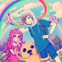 Adventure Time! by kikukikaku