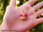Sugar skull by HopieNoelle