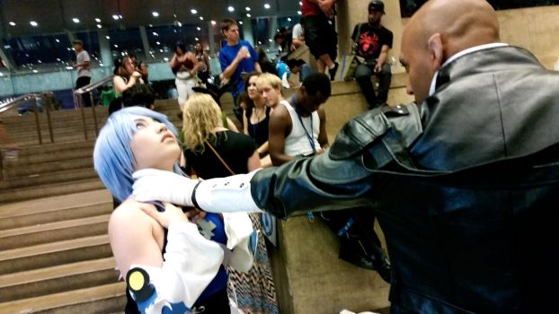 Aqua and Xehanort by PikachuLiveOnStage