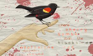 Stain b l a c k birds r e d by Oogeepatogoa