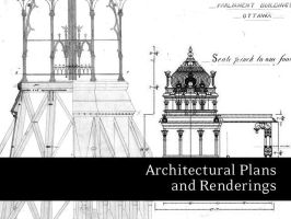 Architectural Plans and Render by remittancegirl