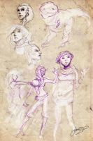 Sketchdump 2013 - 01 by Lumaris