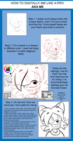 the best inking tutorial by FizTheAncient