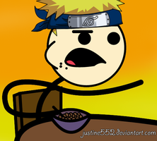 Cereal Guy as Naruto by justine552