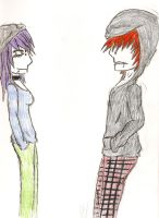 emo couple by maliciouspsycho
