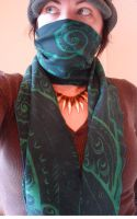 Printed tentacle scarf by missmonster