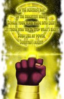 Oath of the Sinestro Corps by halwilliams