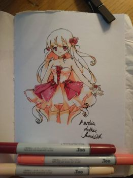 Red copic test by dathie