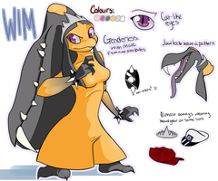 Wim reference sheet - 2013 by Wimawile
