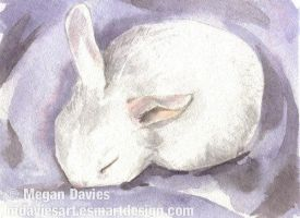 Lavender Dreams ACEO by Pannya