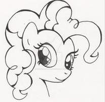 Pinkie ink by MermaidSoupButtons