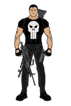 The Punisher by WilliamZimmermann